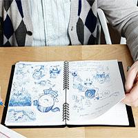 Viết và vẽ linh tinh có lợi hơn bạn tưởng