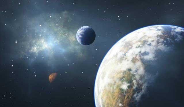 Trái đất là hành tinh may mắn khi phát triển được sự sống.