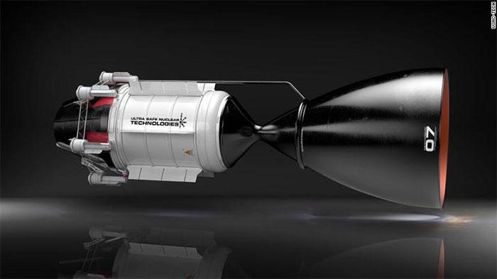 Tên lửa trang bị NTP có lực đẩy mạnh gấp đôi so với hệ thống hóa học hiện hành.