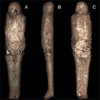 Cô gái 3.200 tuổi được ướp xác 2 lần theo cách lạ lùng nhất thế giới
