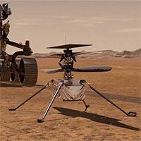 Trực thăng đầu tiên trên sao Hỏa gửi phản hồi với Trái đất