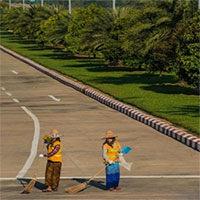 Thủ đô Myanmar - thủ đô kỳ lạ nhất thế giới