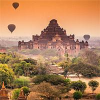 Bí ẩn về những đền chùa thiêng ở Myanmar