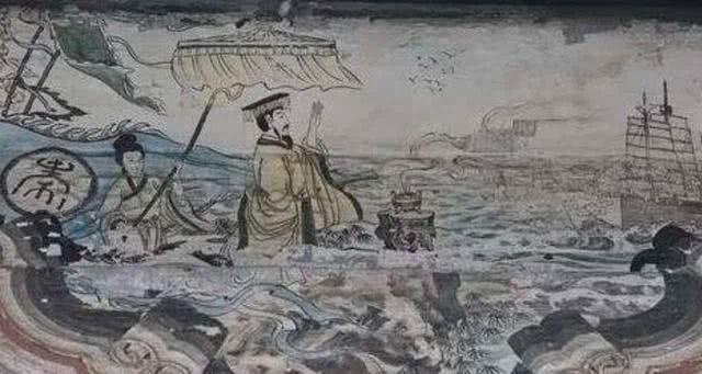 Tần Thủy Hoàng cử ngự y Từ Phúc đi tìm phương thuốc trường sinh trong suốt 9 năm.