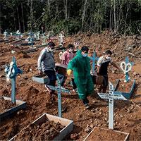 """Brazil """"vỡ trận"""" vì biến chủng mới, toàn cầu bị đe dọa"""
