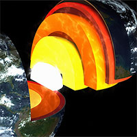 Phát hiện một lớp mới trong lõi Trái đất