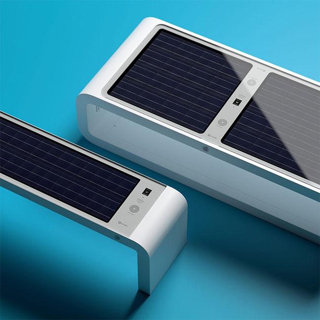 Solar powered smart chair: Charge the battery, play WiFi and more photos 2