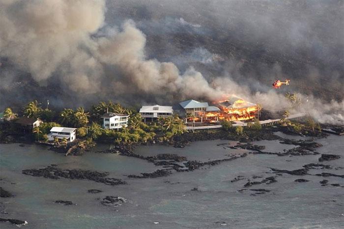 Cơn bão có sự tương tác với núi lửa gây ra nhiều cái chết hơn cả do gió lớn kèm sét đánh