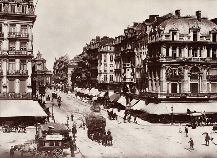 Người dân Bỉ đã phá hủy nhiều tòa nhà lịch sử để xây công trình lớn và hiện đại.