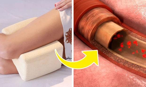 Nếu giữ thói quen lâu dài, nó còn giúp ngăn ngừa tình trạng giãn tĩnh mạch.