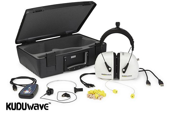 KUDUwave có thể thực hiện đầy đủ các phương pháp đo thính lực khác nhau