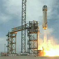 Blue Origin phóng thành công tàu tái sử dụng New Shepard