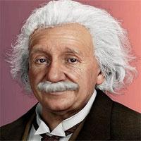 Bản sao kỹ thuật số của thiên tài Albert Einstein