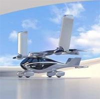 Giới thiệu xe bay tốc độ 240km/h có thể gấp gọn cánh