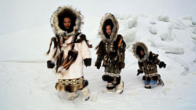 Quần áo thường thấy của người Eskimo để chống lại thời tiết khắc nghiệt