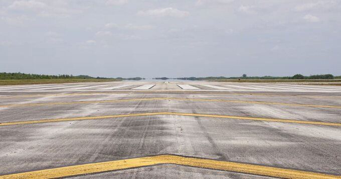 Sân bay được kỳ vọng là vĩ đại nhất thế giới chưa bao giờ đón khách.