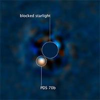 Công bố bức ảnh đầu tiên chụp trực tiếp ngoại hành tinh bằng tia UV
