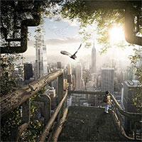 Ý tưởng dựng nhà chọc trời bằng cây biến đổi gene