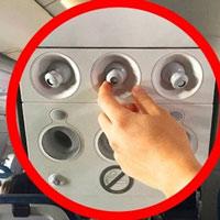 Tại sao không nên đóng lỗ thông gió trên máy bay?