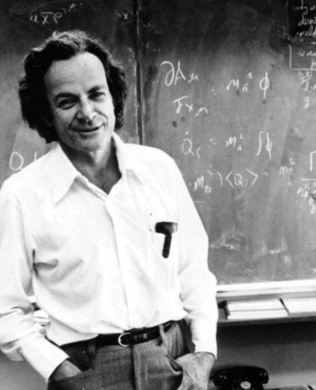 """Nhà vật lý với thú vui """"bẻ khóa"""" Richard Feynman"""