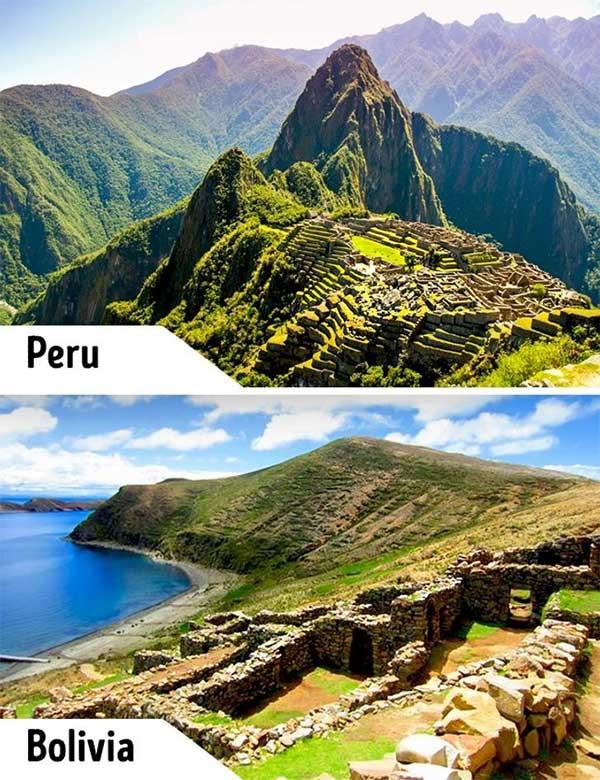 Machu Picchu và Isla del Sol