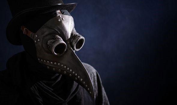 Một bác sĩ chuyên về bệnh dịch hạch.