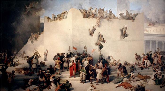Trận đánh trở thành một cuộc tàn sát người Do Thái.