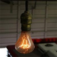 Bóng đèn dây tóc lập kỷ lục Guinness: Phát sáng trong 120 năm vẫn chưa hỏng