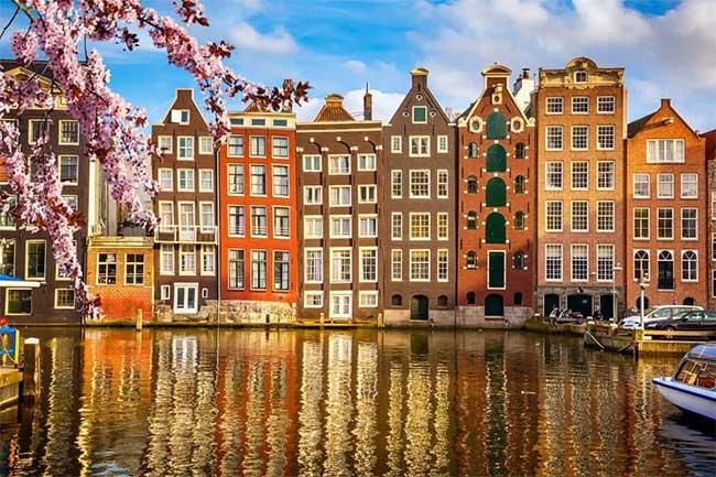 Khu phố cổ Amsterdam