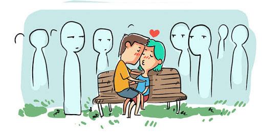 Không nên thể hiện tình cảm ở nơi công cộng khi bạn đến Malaysia