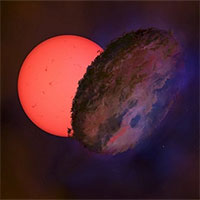 Ngôi sao nhấp nháy khổng lồ ở trung tâm dải Ngân Hà
