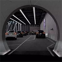 Elon Musk mở đường hầm chở khách bên dưới Las Vegas
