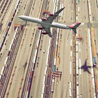 Vì sao máy bay và chim không đổ bóng xuống mặt đất khi bay?