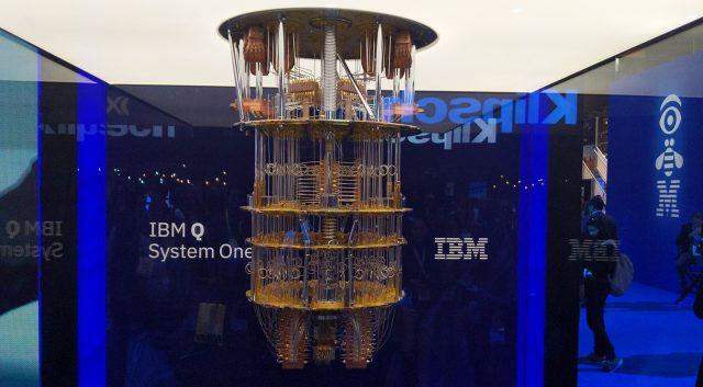 """Máy tính """"IBM Q Systems One""""."""