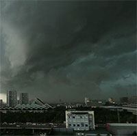 Ngày mai (22/6) miền Bắc đón mưa giông giải nhiệt