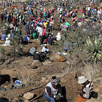 Đã xác định được viên đá lạ gây cơn sốt kim cương ở Nam Phi