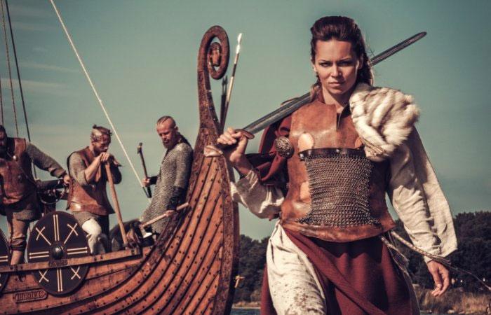 Phụ nữ thường tham gia các trận chiến trong thời đại Viking.