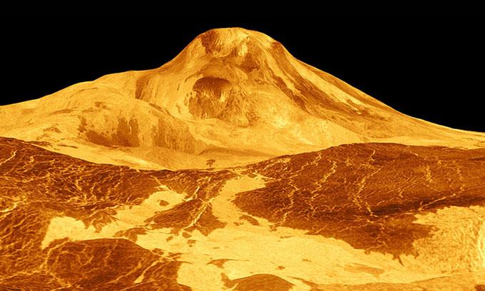 Bằng chứng cho thấy núi lửa đang hoạt động trên sao Kim